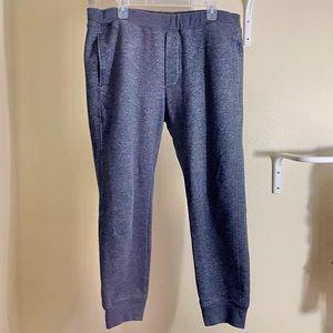 Vince Jogger Sweatpants Pockets Charcoal Gray XXL